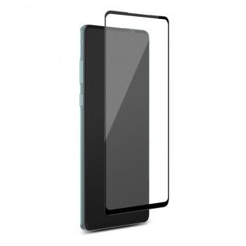 PURO Frame Tempered Glass - Szkło ochronne hartowane na ekran Samsung Galaxy S20 FE (czarna ramka)