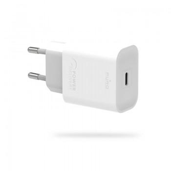 Puro Fast Travel Charger - Ładowarka sieciowa USB-C 20W (biały)