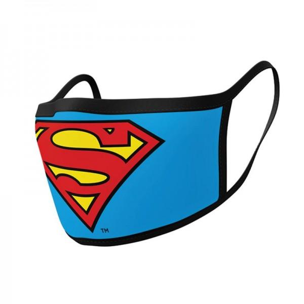 Superman - Maseczka ochronna 2 sztuki, 3 warstwy filtrujące