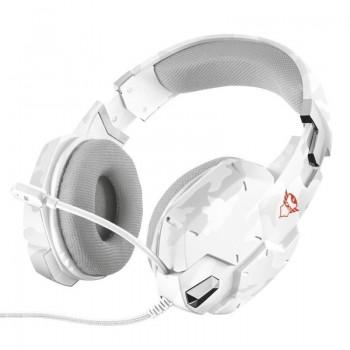 Trust GXT 322W Carus - Słuchawki dla graczy (biały)