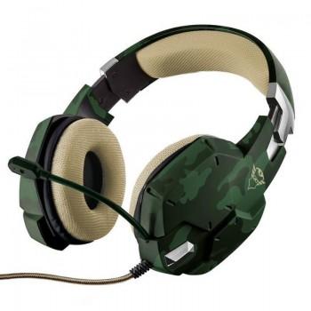Trust GXT 322C Carus - Słuchawki dla graczy (zielony)