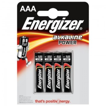Energizer - Bateria alkaiczna AAA, 1.5V (4szt.)