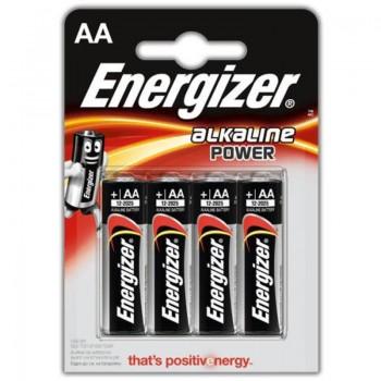 Energizer - Bateria alkaiczna AA, 1.5V (4szt.)