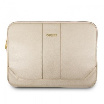 "Guess Saffiano Computer Sleeve – Etui na notebooka 13"" (beżowy)"