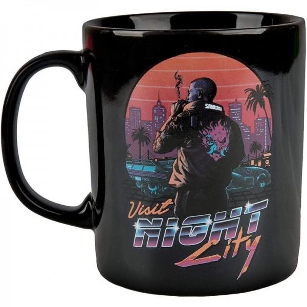Cyberpunk 2077 - Kubek 350 ml Night City Sunset