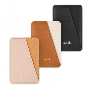Moshi Slim Wallet - Portfel magnetyczny (System SnapTo™) (Luna Pink)