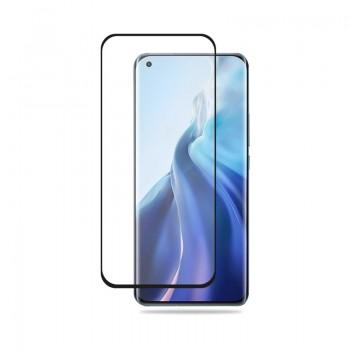 Crong 3D Armour Glass - Szkło hartowane 9H Full Glue na cały ekran Xiaomi Mi 11 + ramka instalacyjna