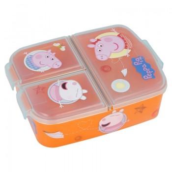 Peppa Pig - Śniadaniówka z przegródkami