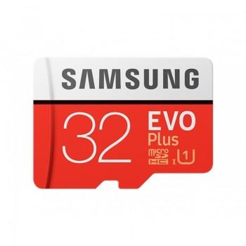 Samsung MicroSDHC Evo+ - Karta pamięci 32GB Class 10 UHS-I U1 95/20 Mb/s z adapterem
