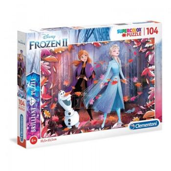 Clementoni - Puzzle Frozen 104 ele.