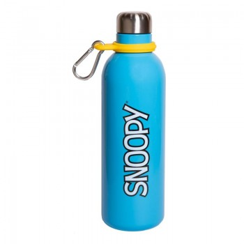 Snoopy - Butelka metaliczna 500 ml