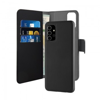 PURO Wallet Detachable - Etui 2w1 Samsung Galaxy A32 (czarny)