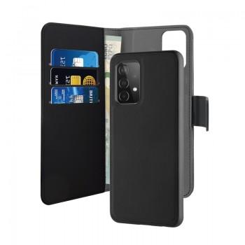 PURO Wallet Detachable - Etui 2w1 Samsung Galaxy A52 (czarny)
