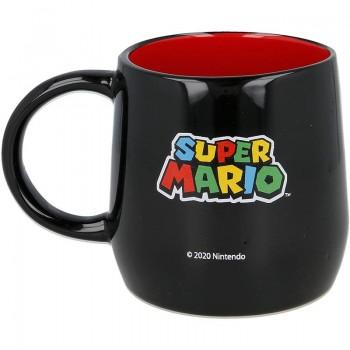 Super Mario - Kubek ceramiczny 355ml (czarny)