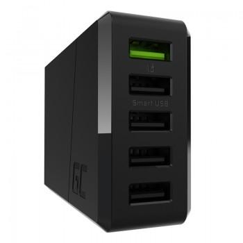 Green Cell ChargeSource 5 - Ładowarka sieciowa 5xUSB 52W Ultra Charge, Smart Charge