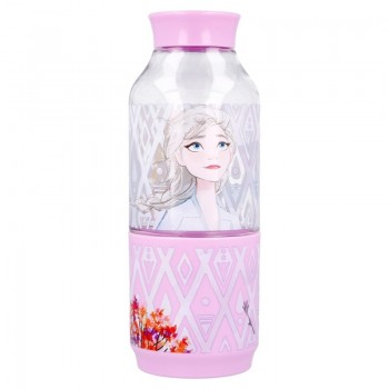 Frozen - Butelka na wodę z tritanu 300 ml z pojemnikiem na przekąskę 175 ml