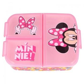 Minnie Mouse - Śniadaniówka / lunchbox z przegródkami