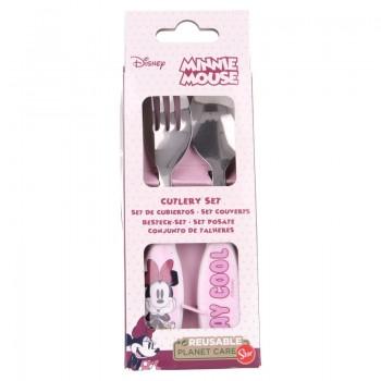 Minnie Mouse - Zestaw sztućców (łyżka i widelec)