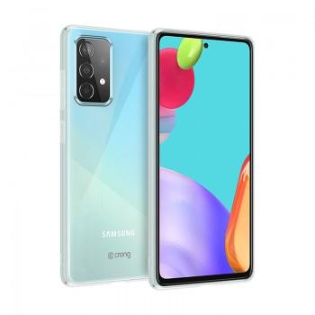 Crong Crystal Slim Cover - Etui Samsung Galaxy A52 (przezroczysty)