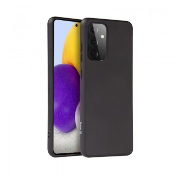 Crong Color Cover - Etui Samsung Galaxy A72 (czarny)