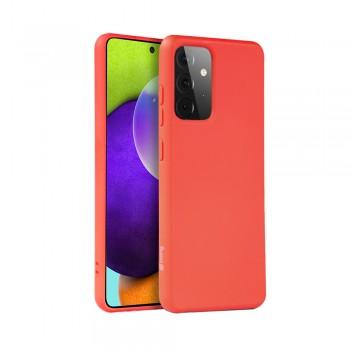 Crong Color Cover - Etui Samsung Galaxy A52 (czerwony)