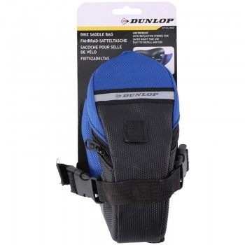 Dunlop - Torba / sakwa rowerowa pod siodełko (Niebieski)