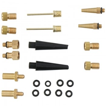 Dunlop - Zestaw adapterów do pompek 14szt.