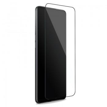 PURO Frame Tempered Glass - Szkło ochronne hartowane na ekran Xiaomi Redmi Note 10 (czarna ramka)