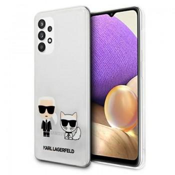 Karl Lagerfeld Ikonik & Choupette - Etui Samsumg Galaxy A32 5G (przezroczysty)