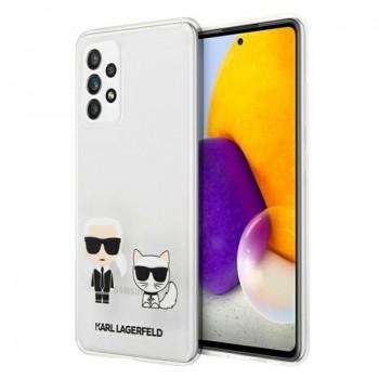 Karl Lagerfeld Ikonik & Choupette - Etui Samsumg Galaxy A52 (przezroczysty)