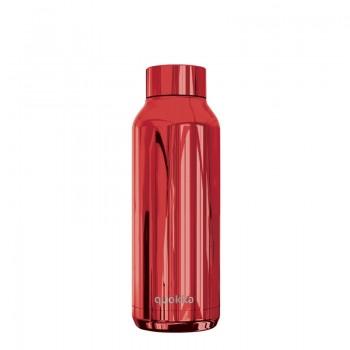 Quokka Solid - Butelka termiczna ze stali nierdzewnej 510 ml (Sleek Ruby)