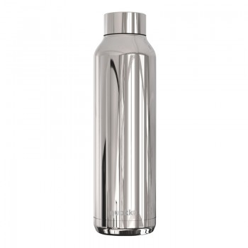 Quokka Solid - Butelka termiczna ze stali nierdzewnej 630 ml (Sleek Silver)