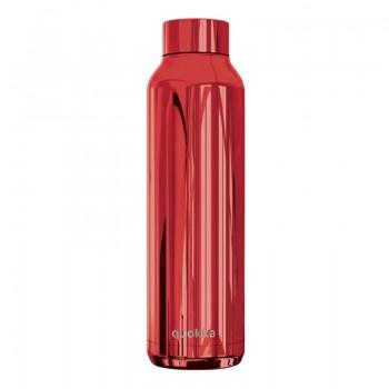 Quokka Solid - Butelka termiczna ze stali nierdzewnej 630 ml (Sleek Ruby)