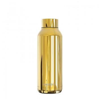 Quokka Solid - Butelka termiczna ze stali nierdzewnej 510 ml (Sleek Gold)