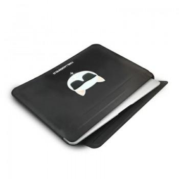"Karl Lagerfeld Choupette Sleeve - Etui na Macbook Pro / Air 13"" / notebook 13"" (Czarny)"