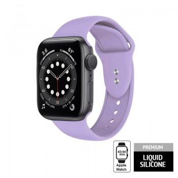 Crong Liquid - Pasek do Apple Watch 42/44 mm (fioletowy)