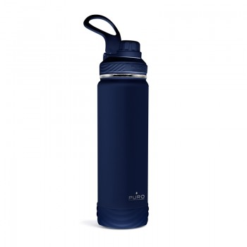 PURO Outdoor - Butelka termiczna ze stali nierdzewnej 750 ml (Dark Blue)