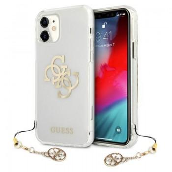 Guess 4G Big Logo Charm - Etui iPhone 11 (złoty)