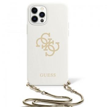 Guess 4G Big Logo Chain - Etui iPhone 11 (biały)