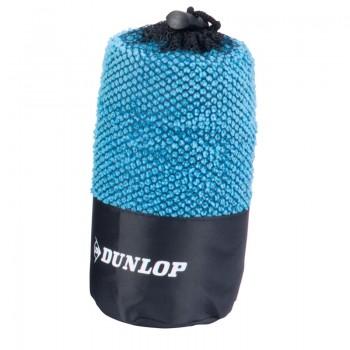 Dunlop - Ręcznik sportowy z mikrofibry (Niebieski)
