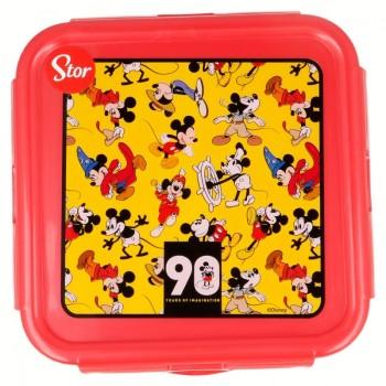 Mickey Mouse - Lunchbox / hermetyczne pudełko śniadaniowe 500ml