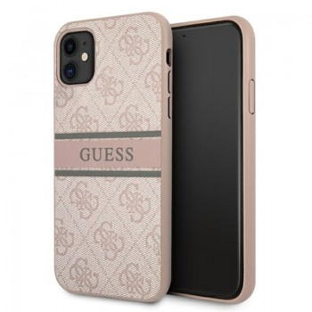 Guess 4G Stripe Collection - Etui iPhone 11 (różowy)