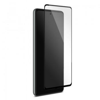 PURO Frame Tempered Glass - Szkło ochronne hartowane na ekran Samsung Galaxy A72 5G (czarna ramka)