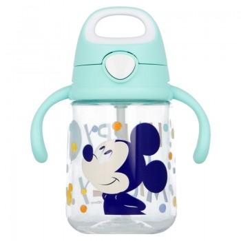 Mickey Mouse - Kubek niekapek ze słomką 370 ml