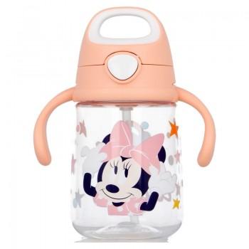 Minnie Mouse - Kubek niekapek ze słomką 370 ml