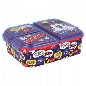 Mickey Mouse - Lunchbox / śniadaniówka z przegródkami