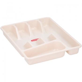 Curver - Wkład / Organizer na sztućce do szuflady (beżowy)