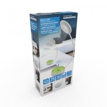 Grundig - Składana lampka biurowa LED 15cm (zielony)