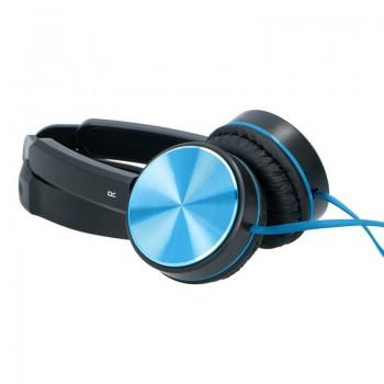 Grundig - Składane słuchawki nauszne (niebieski)