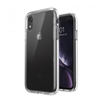 Speck Presidio Perfect-Clear - Etui iPhone XR z powłoką MICROBAN (Clear)